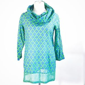 Gretchen Scott Designer 100% Cotton Tunic